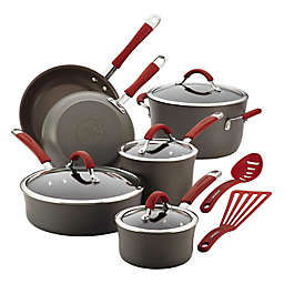 Rachael Ray™ Cucina Hard-Anodized 12-Piece Cookware
