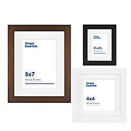 Simply Essential™ Gallery Matted Wood Picture Frame