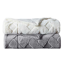VCNY Home Faux Fur Throw Blanket