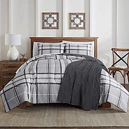 Lee 8-Piece California King Comforter Set in Grey
