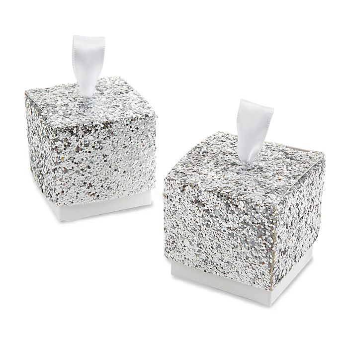 1f20bf01106c Kate Aspen® Sparkle and Shine Glitter Favor Boxes (Set of 24)