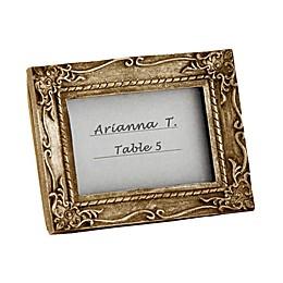 Kate Aspen® Work of Art Antique-Finish Place Card/Photo Frame