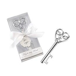 Kate Aspen® Simply Elegant Key To My Heart Bottle Opener