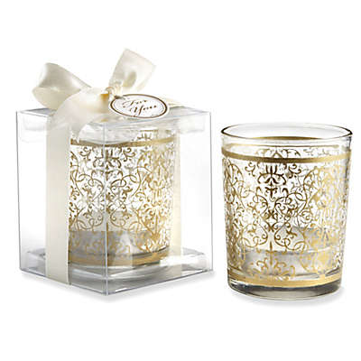 Kate Aspen® Golden Renaissance Glass Tealight Holders (Set of 4)