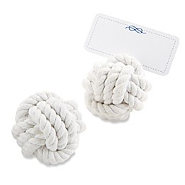Kate Aspen® Nautical Cotton Rope Place Card Holder (Set of 6)