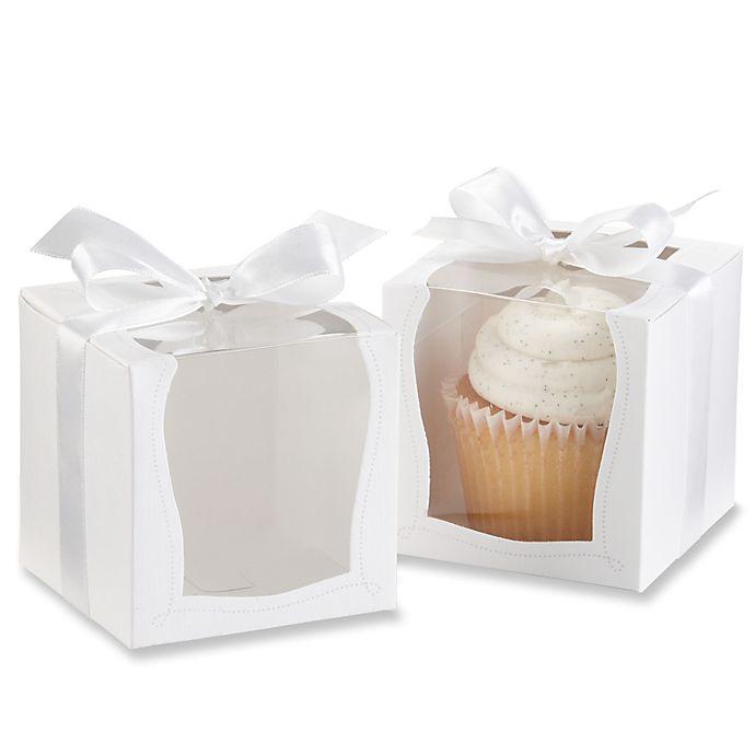 Alternate image 1 for Kate Aspen® Sweetness & Light Cupcake Boxes (Set of 12)