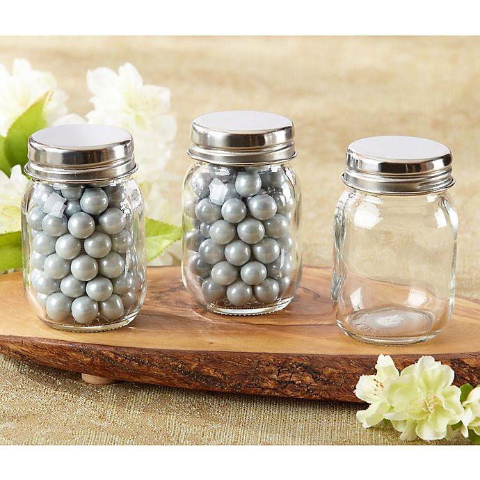 Alternate image 1 for Kate Aspen® Mini Glass Mason Jars (Set of 12)