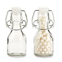 Kate Aspen® Swing-Top Mini Glass Favor Bottle (Set of 12)