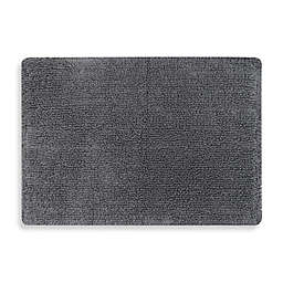 Mohawk Step Out 17-Inch x 24-Inch Bath Rug in Charcoal