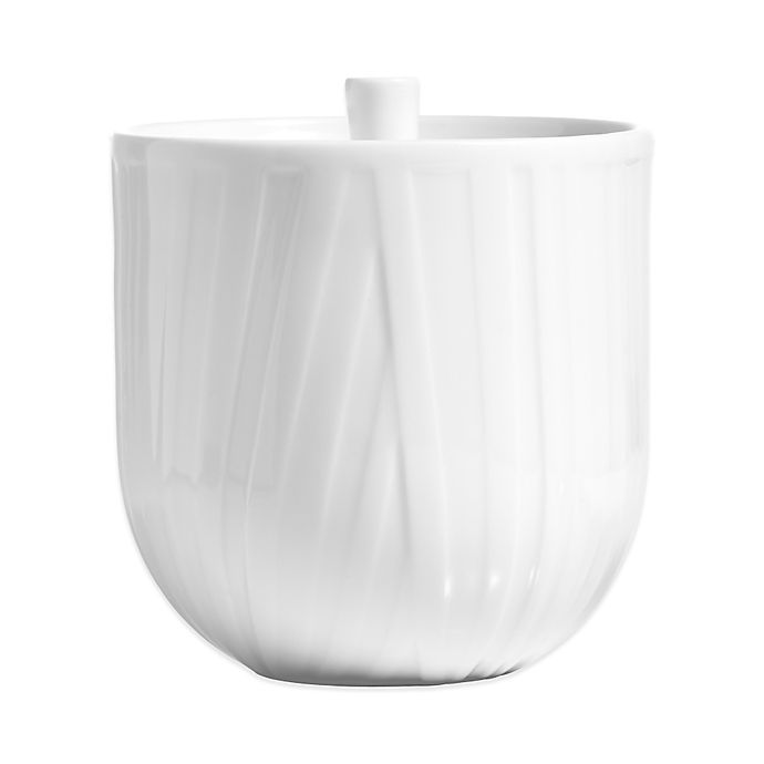 Alternate image 1 for Vera Wang Wedgwood® Vera Organza Covered Sugar Bowl