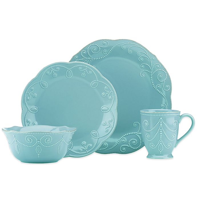 Alternate image 1 for Lenox® French Perle™ Dinnerware Collection in Robins Egg