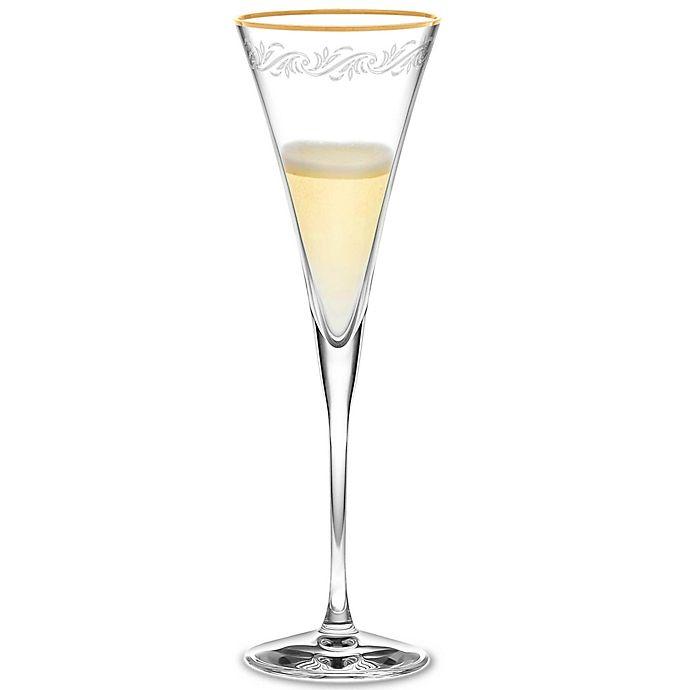 Alternate image 1 for Noritake® Crestwood Gold Champagne Flute