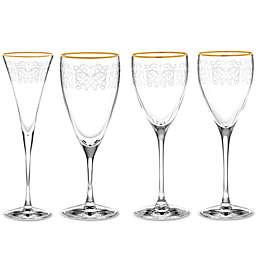 Noritake® Odessa Gold Wine & Bar Collection