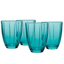 Noritake® Colorwave Tumblers in Turquoise (Set of 4)