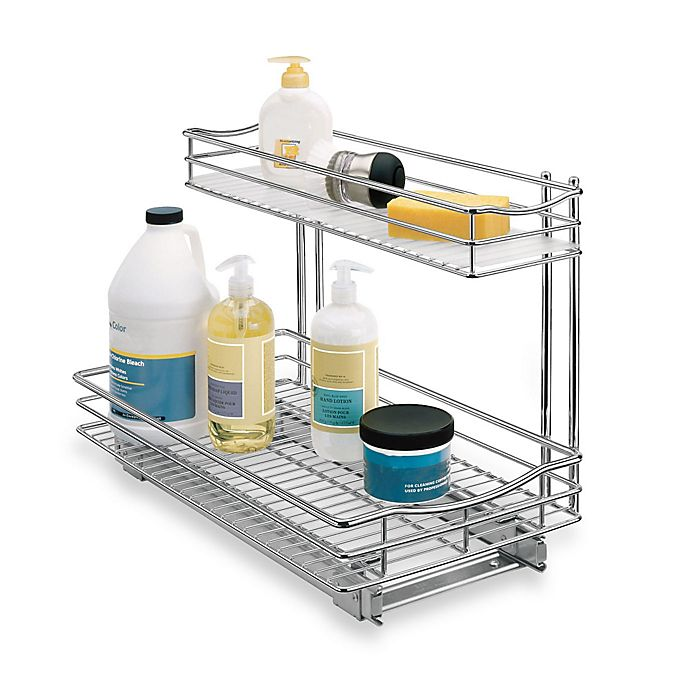 Alternate image 1 for Lynk 11-Inch x 18-Inch Deep Roll-Out Under-Sink Drawer