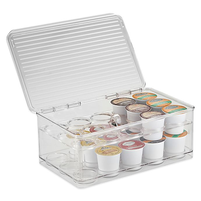 Alternate image 1 for iDesign® Cabinet Binz™ Stackable Coffee Pod Storage Box