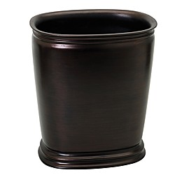 India Ink Winston Wastebasket in Oil Rubbed Bronze