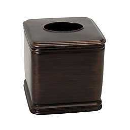 India Ink Winston Boutique Tissue Box Cover in Oil Rubbed Bronze