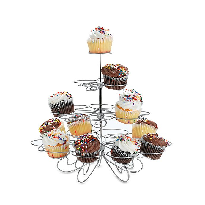 Alternate image 1 for Wilton® Cupcakes N' More™ Medium Dessert Stand