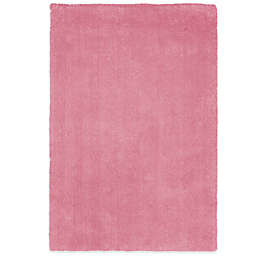 KAS Bliss Solid Shag 7-Foot 6-Inch x 9-Foot 6-Inch Rug in Hot Pink