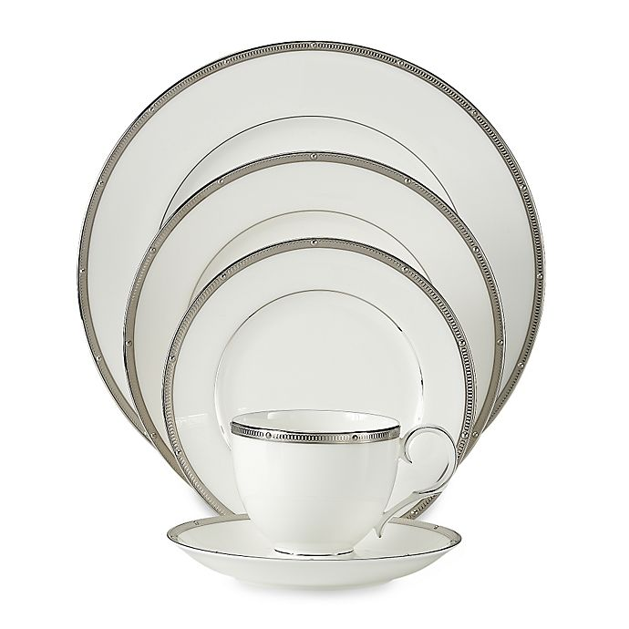 Alternate image 1 for Noritake® Rochelle Platinum Dinnerware Collection