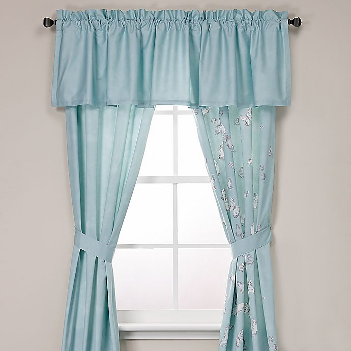 Alternate image 1 for Under the Canopy® Metamorphosis Window Curtain Panel and Valance