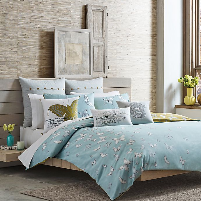Alternate image 1 for Under the Canopy® Metamorphosis Organic Cotton Reversible Comforter Set