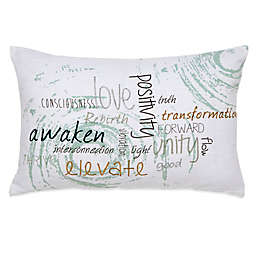 Under the Canopy® Metamorphosis Awaken Organic Cotton Oblong Throw Pillow