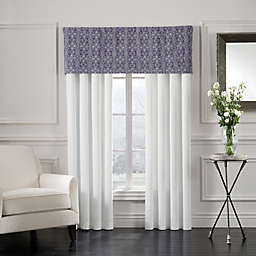 Sonoma Solid Window Curtain Panel Pair in Blue