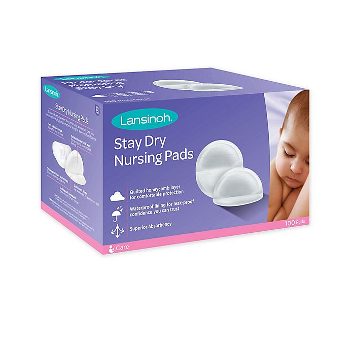 Alternate image 1 for Lansinoh® 100-Count Disposable Nursing Pads
