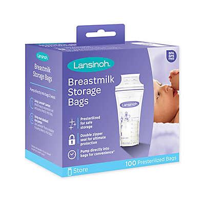 Lansinoh® 100-Count Breastmilk Storage Bags