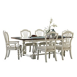 Hillsdale Pine Island Trestle Dining Collection