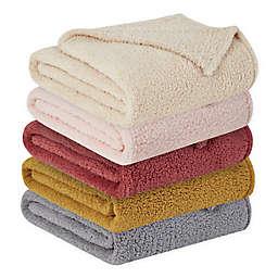Brooklyn Loom® Marshmallow Sherpa Throw Blanket