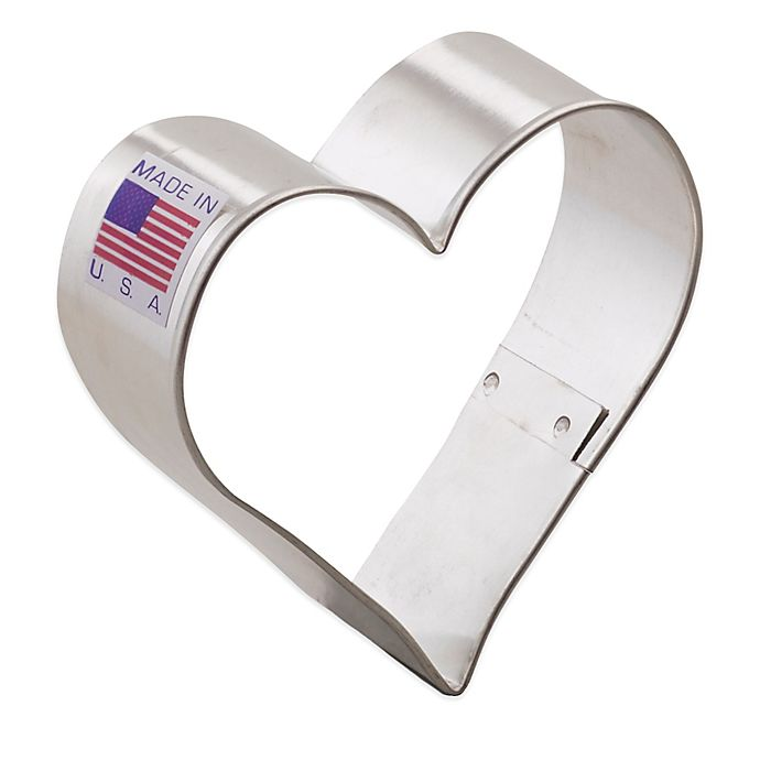 Alternate image 1 for Ann Clark 2.5-Inch Heart Cookie Cutter