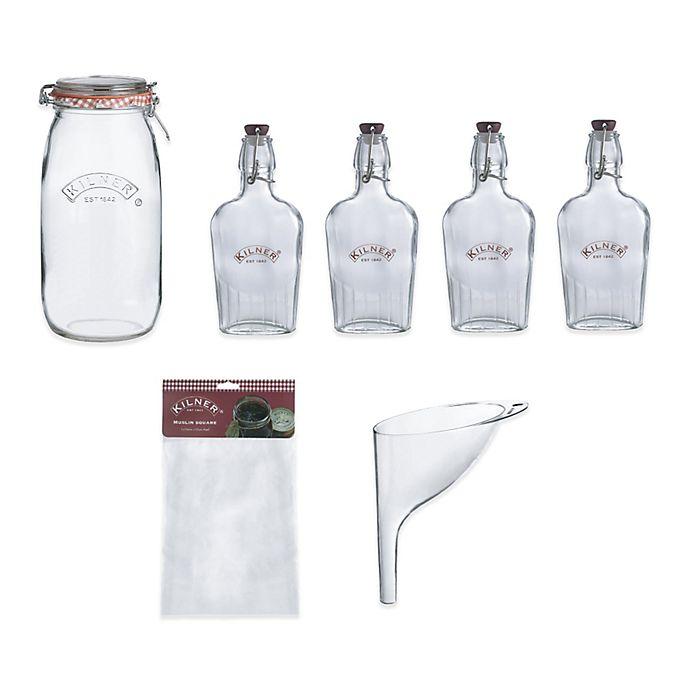 Alternate image 1 for Kilner® 8-Piece Sloe Gin Gift Set