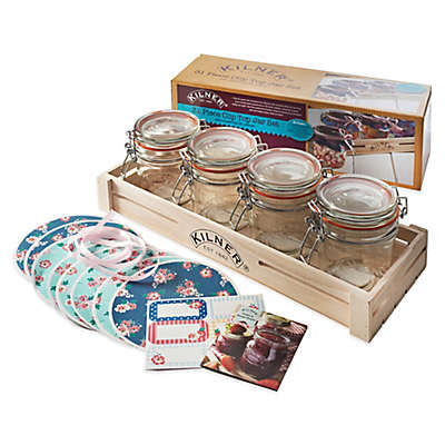 Kilner® 31-Piece Clip Top Canning Jar Gift Set