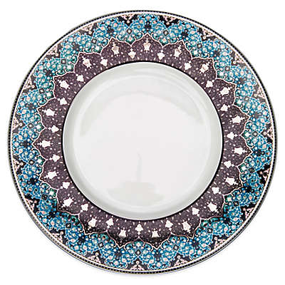 Philippe Deshoulieres Dhara Dinner Plate in Peacock Blue