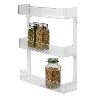 iDesign® Cabinet Binz™  3-Tier Wall Mount Spice Rack