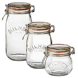 Kilner® Round Clip Top Canning Jar