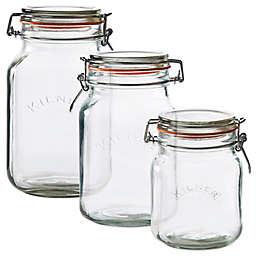 Kilner® Square Clip Top Canning Jar