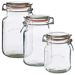 Kilner® Square Clip Top Canning Jar