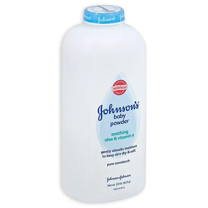 Alternate image 1 for Johnson & Johnson® 22 oz. Pure Cornstarch Baby Powder
