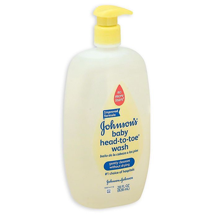 Alternate image 1 for Johnson & Johnson® Head-to-Toe® 28 oz. Baby Wash