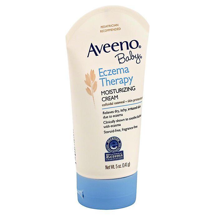 Alternate image 1 for AVEENO® 5 oz. Baby Eczema Therapy Moisturizing Cream