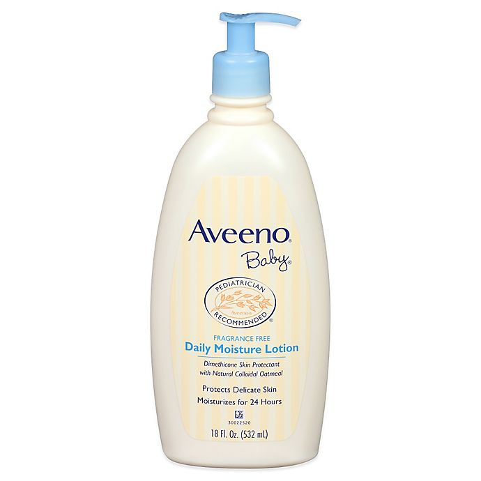 Alternate image 1 for AVEENO® 18 oz. Baby Daily Moisture Lotion