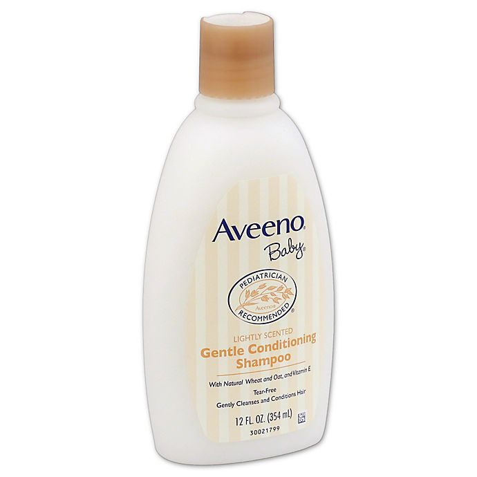 Alternate image 1 for AVEENO® 12-Ounce Baby Gentle Conditioning Shampoo