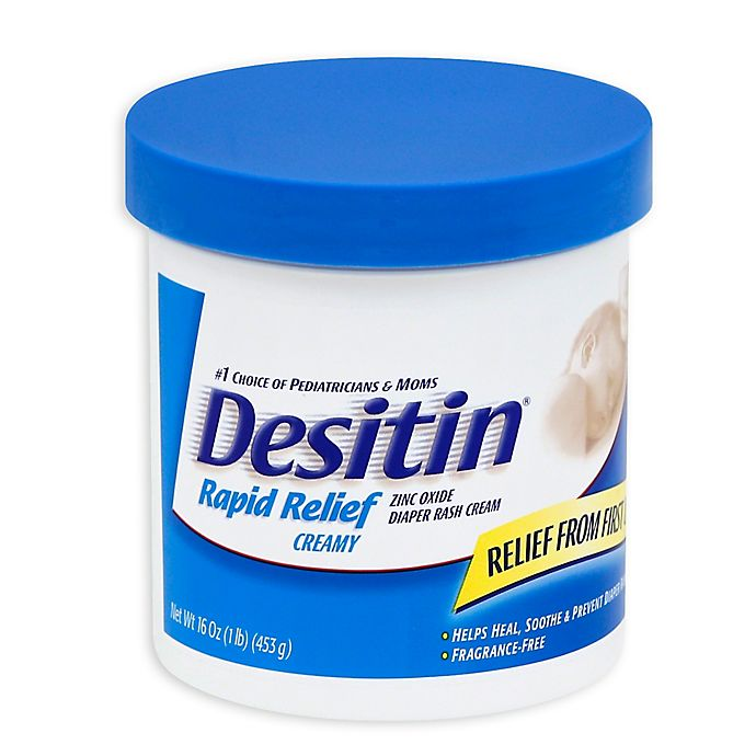 Alternate image 1 for Desitin® Rapid Relief Creamy 16 oz. Diaper Rash Cream