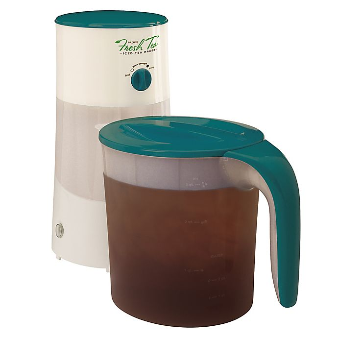 Mr. Coffee® 3-Quart Iced Tea Maker | Bed Bath and Beyond ...