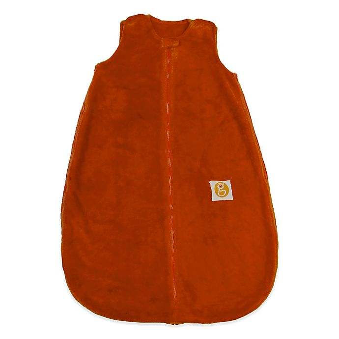 Alternate image 1 for Gunamuna Classic Dreams Gunapod Plush Wearable Blanket in Carrot