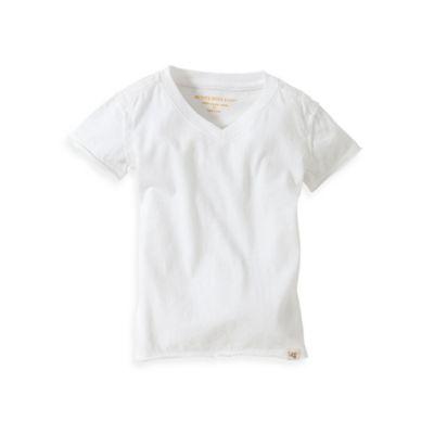 NWT Burts Bees Boys Button Up Long Sleeve Shirt Top Cream Gray Check Cotton 0-3M